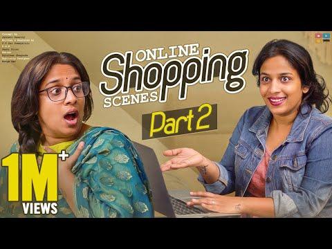 Online Shopping Scenes Part 2 || Mahathalli || Tamada Media