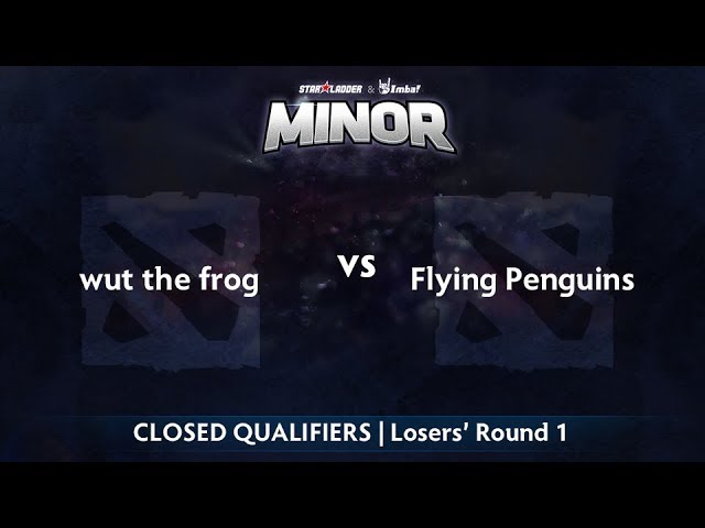 wut the frog vs Flying Penguins Game 1 - StarLadder ImbaTV NA Qualifier: Losers' Round 1
