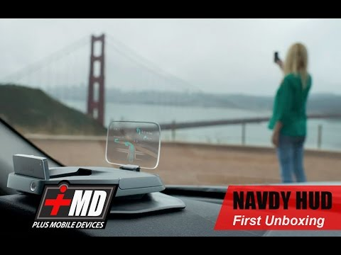 NAVDY HUD (Heads Up Display) Unboxing  and First impression