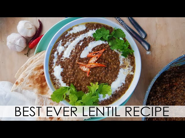 Vegan Lentil Recipe, Best ever Lentil Curry, Vegan and Gluten Free