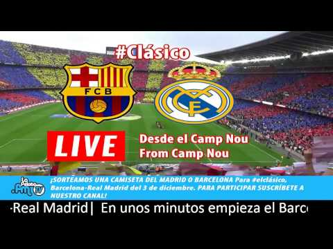 Image Result For Ao Vivo Real Madrid Vs Barcelona En Vivo Streaming Streaming Video