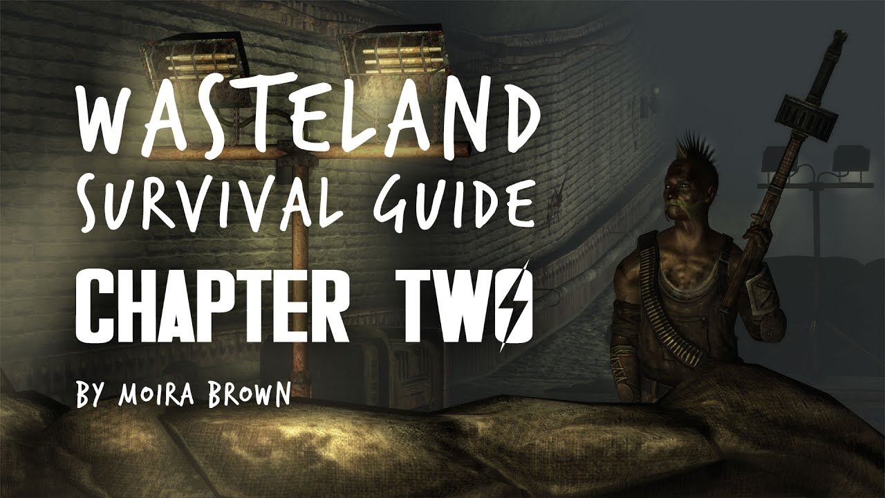 chapter two wasteland survival guide the tepid sewers rocksalt