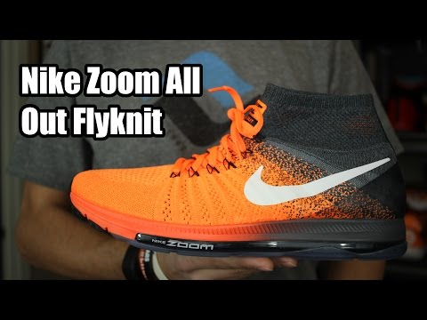 Nike Zoom All Out Flyknit W/ On Foot