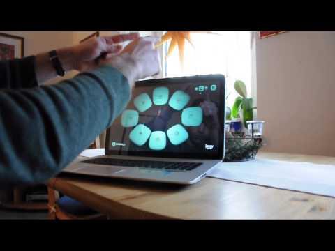 HP ENVY 17-j115eg / Leap Motion / Test Music Apps