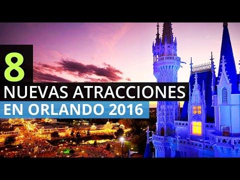 8 Nuevas Atracciones en Orlando 2016