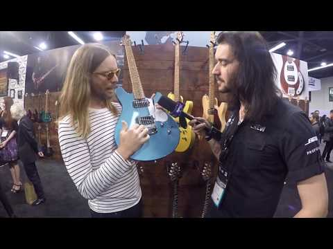 NAMM 2018 | New Ernie Ball Music Man James Valentine Guitar Colours for 2018