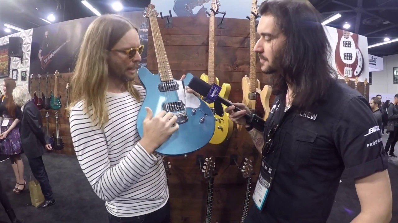 NAMM 2018 New Ernie Ball Music Man James Valentine