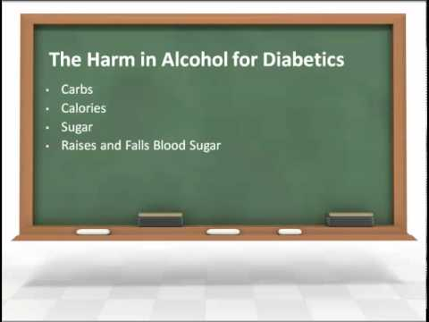 Diabetes and Alcohol Consumption