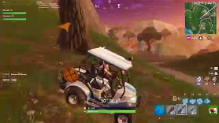 Fortnite - Highly realistic car physics