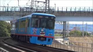 京阪電車***8010編成君のトーマス号姿の特急姿