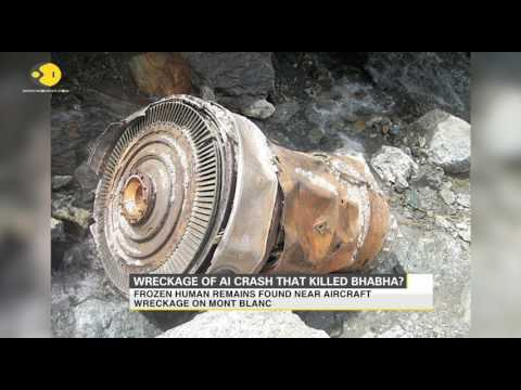 Wreckage of plane crash that killed Homi Bhabha found near French Alps