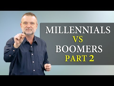 Millennials vs Baby Boomers - Part 2 - Millennials and Authority: Peace Time vs War Time