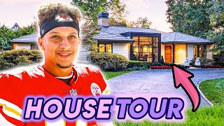 Patrick Mahomes | House Tour 2020 | Kansas City Starter Mansion | $500 Million Dollar Man