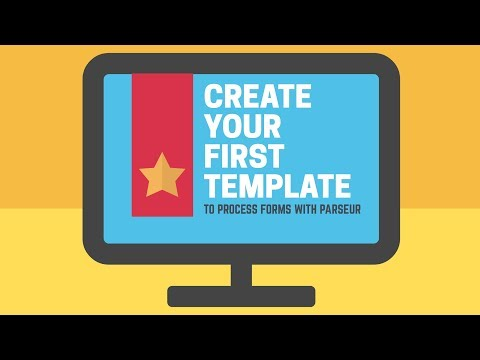 Create your first template to extract text from emails with Parseur