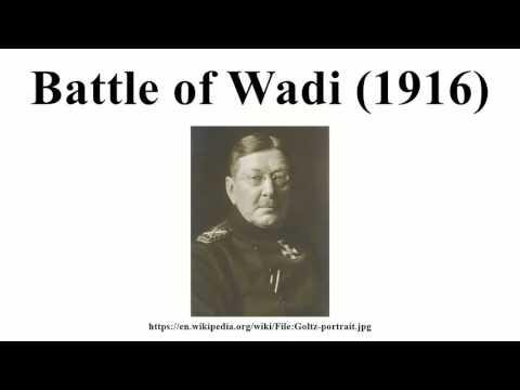 Battle of Wadi (1916)