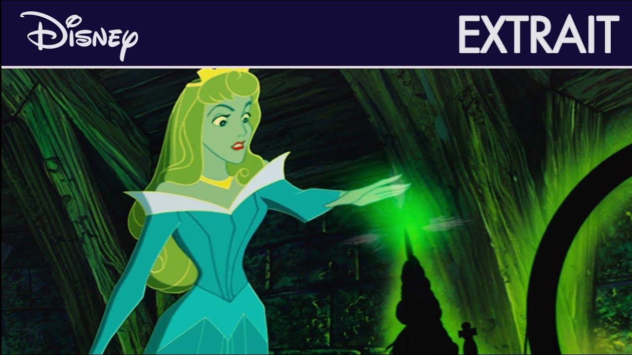 La Belle au Bois Dormant - Extrait : Aurore touche le fuseau   Disney