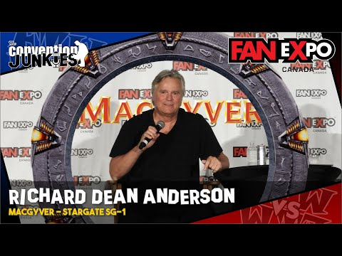 Richard Dean Anderson Stargate SG1  Expo Canada 2018 Full Panel