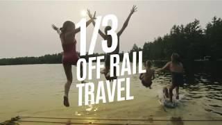 Jump For Joy! Get 1/3 off rail travel.