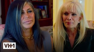 Mob Wives | Big Ang Meets With Victoria Gotti | VH1