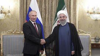 Putin makes visit to Iran