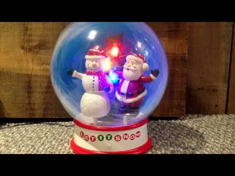 Gemmy Musical Snow Globe