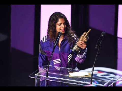 M.I.A. wins Best British Female Artist NME Award 2017