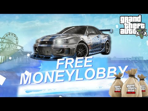 💰 FREE GTA 5 ONLINE MONEY LOBBY | MONEY AND RP DROP (PS4 XBOX PC)