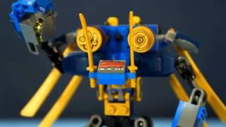 Конструктор Лего Ниндзяго 70754 обзор на русском  Лего Мультики  Lego Ninjago 2015