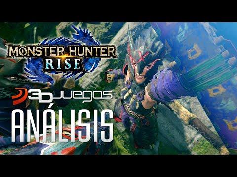 ANÁLISIS de MONSTER HUNTER RISE: VIDEOREVIEW del ACCIÓN RPG con toda la EMOCIÓN de la saga de CAPCOM