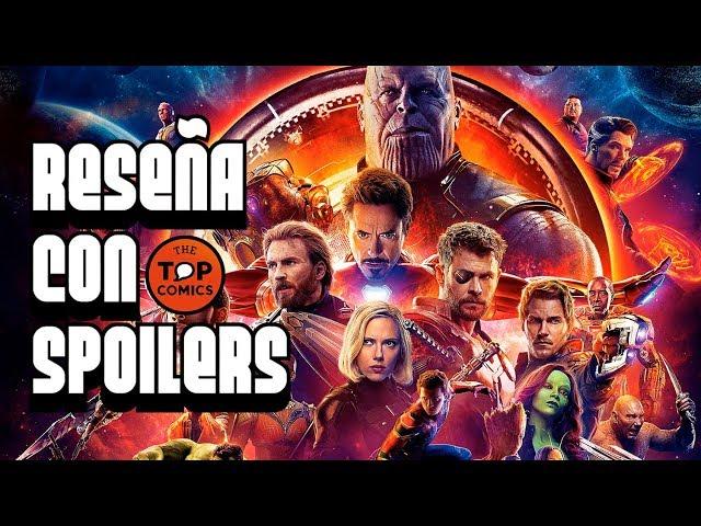 Resen?a  Avengers Infinity War con spoilers