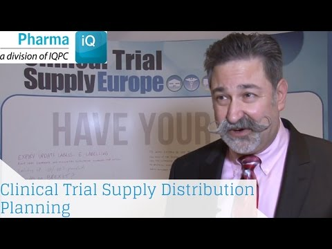 Mapping Clinical Trial Supply Distribution Planning