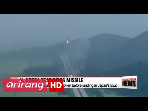 North Korea fires ballistic missile; President Moon calls emergency NSC meeting