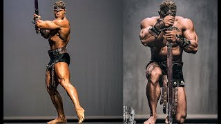 CONAN The BARBARIAN - Iron Man Guest Posing