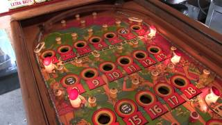 Pinball Bingo Machine refurb