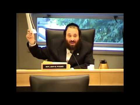 Rockland County Legislator Aaron Wieder Slams Yaafed