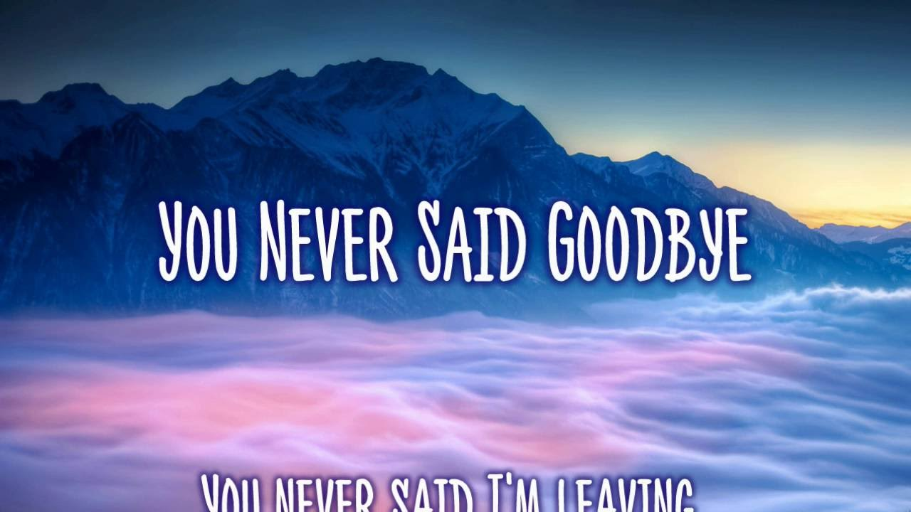 You Never Said Goodbye - Forever In My Heart - Touching Poems Quotes