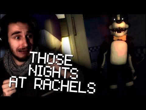 DAS HEFTIGSTE FNAF GAME   Those Nights at Rachels - Nacht 1 & 2 (Deutsch/German)
