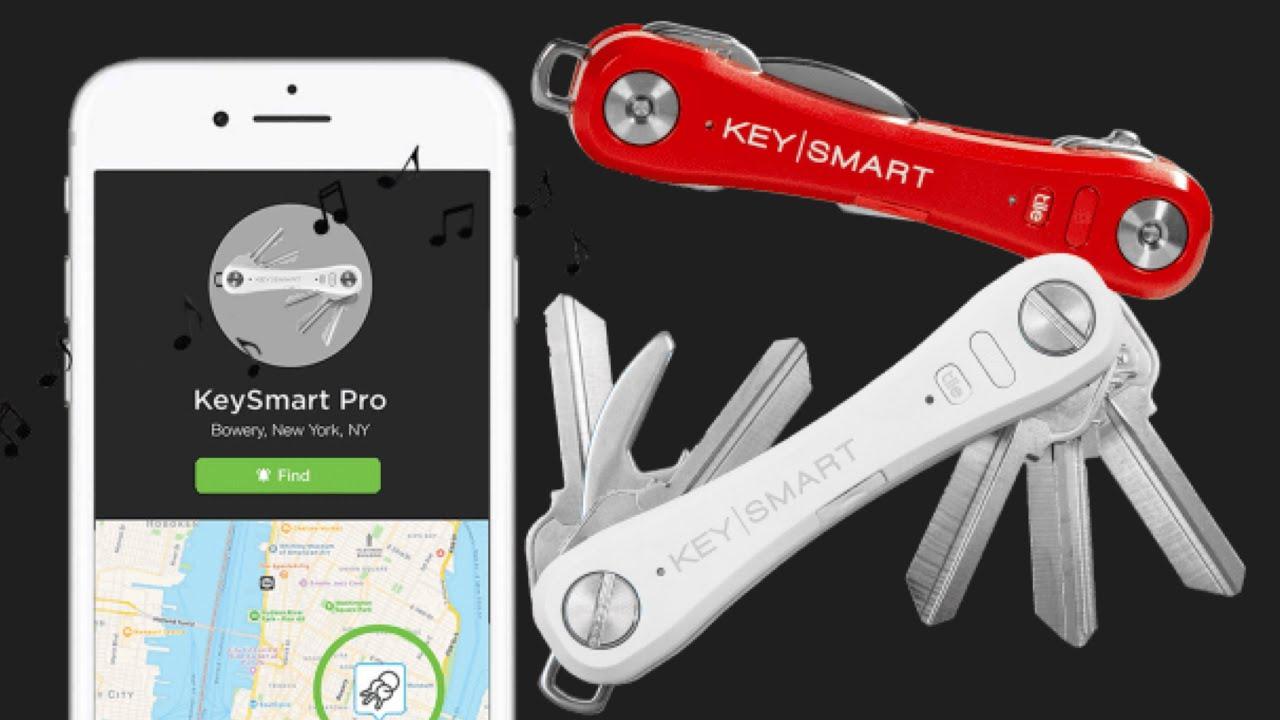 keysmart pro all in one key organizer with tile tracker