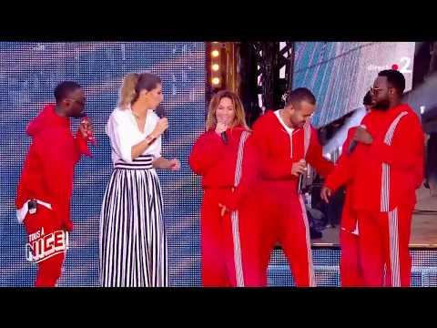 Nice LIVE NAESTRO - Bella Ciao ft. Maître GIMS, VITAA, DADJU & SLIMANE live a nice 2018