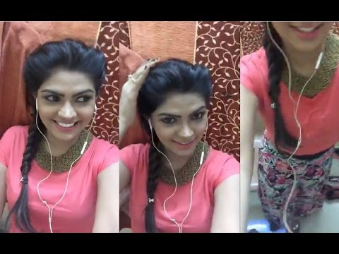 Vani Rani Actress Shamily Sukumar - Tejuswini (Teju) | FB Live From Vani Rani Shooting Spot |