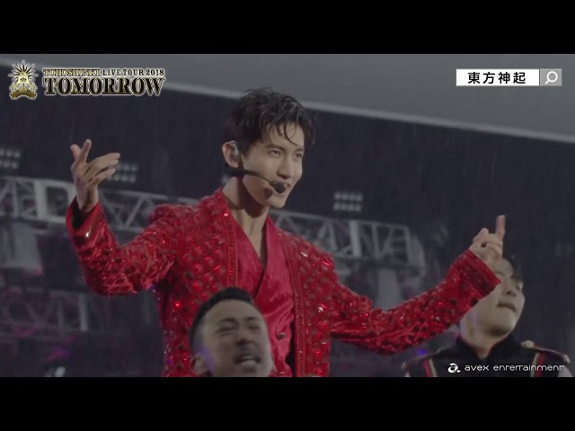 東方神起 / LIVE TOUR 2018 TOMORROW SPOT (15sec)