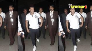 SPOTTED: Salman Khan Leaves for Abu Dhabi | SpotboyE