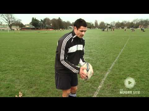 Dan Carter: Rugby Drop Kick Restarts