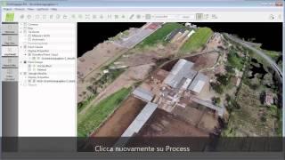 Pix4Dmapper - Intensificare e Rielaborare le curve di livello