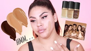 NEW TOO FACED X JACKIE AINA BORN THIS WAY FOUNDATION REVIEW |MAKEUPBYGRISELDA