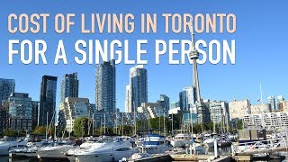 Cost of Living in Toronto for One Person