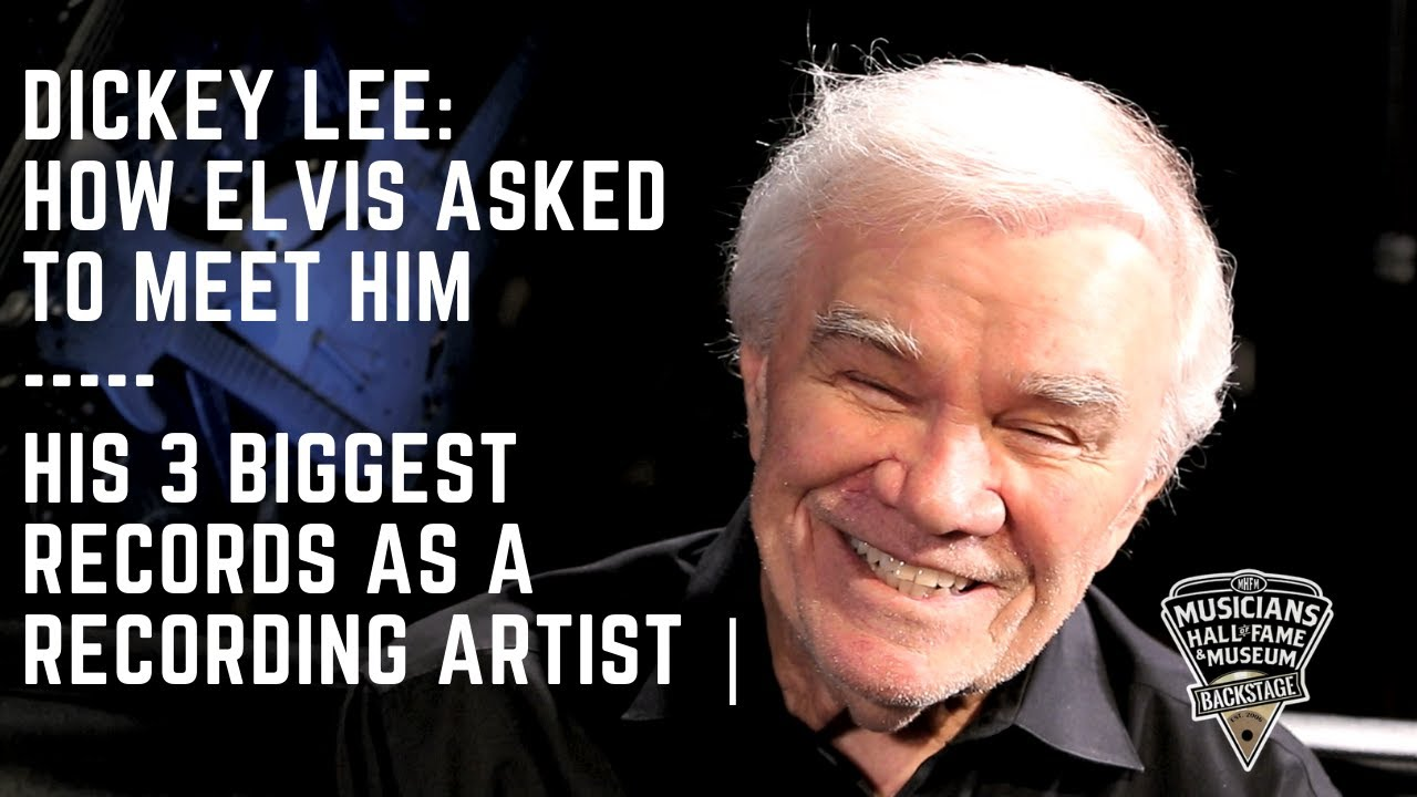 Dickey Lee: How Elvis Asked to Meet Him & His 3 Biggest Records as a Recording Artist | Part One