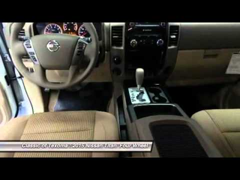 2015 Nissan Titan Denison Sherman Durant FN512243