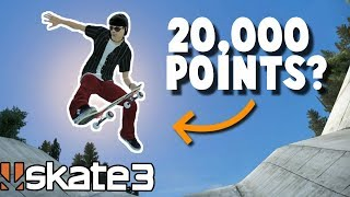 Skate 3: 20,000 POINTS AT THE DITCH? | Friday Fan Challenge #2