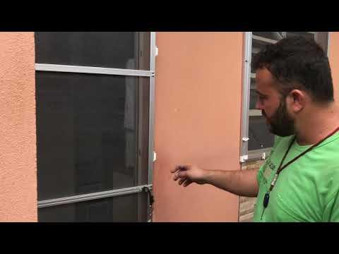 Telas mosquiteira porta de abrir com uma e mola